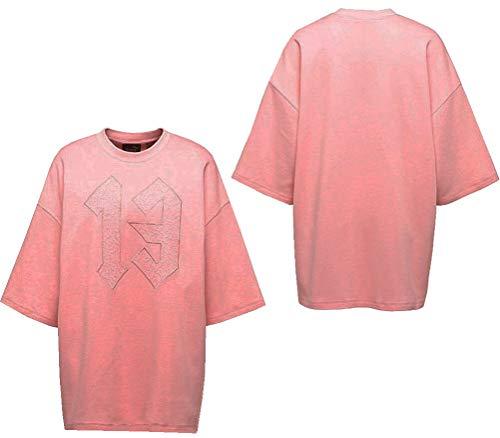 PUMA Rihanna Fenty Donna Rose Oversize Top Rosa di cristallo (03) 42