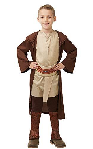 Star Wars - Disfraz Túnica Jedi Classic para niños, infantil 5-6 años (Rubie\'s 640273-M)