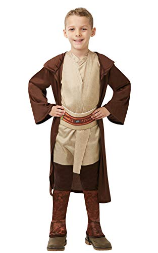 Star Wars - Disfraz Túnica Jedi Classic para niños, infantil 5-6 años (Rubie's 640273-M)