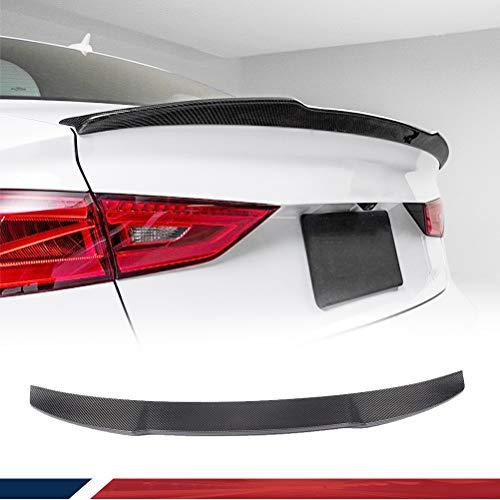 Karbonfaser hinten Lippe Spoiler für A3 8 V Limousine 2014-2016 (passend für: A3)