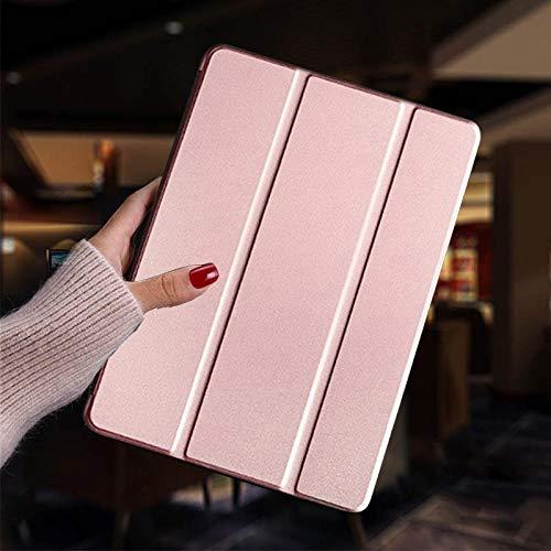 Hannuo Funda para Tableta para Samsung Galaxy Tab S2 8.0 Pulgadas T710 Funda SM-T710 T715 T713 T719 Funda Funda Inteligente para s2 8.0 Carcasa Protectora-Oro Rosa