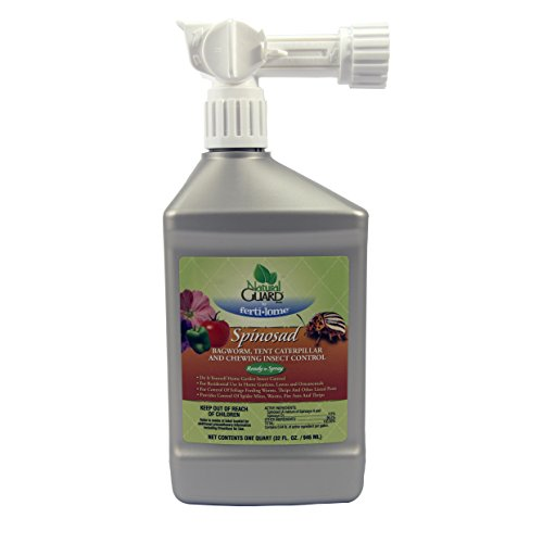 Fertilome 40693 Natural Guard Spinosad Bagworm, Tent Caterpillar & Chewing (32 oz. RTS Hose End) Insect Control