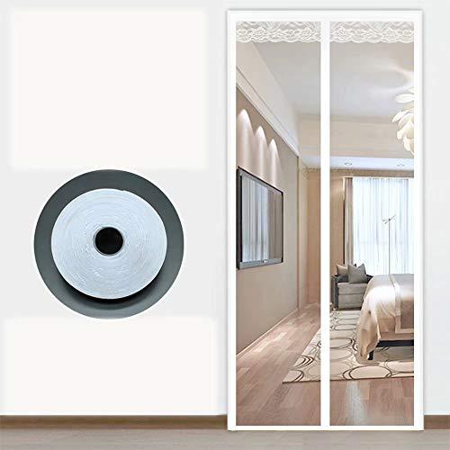 magnetische hordeur, magneet hordeur hor hordeur zelfklevend zonder boren, voor gangen/deuren - wit