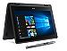 "Acer SP111-31N-C4UG Spin 1, 11.6"" Full HD Touch, 2 in 1 Laptop, Celeron N3350, 4GB DDR3L, 32GB Storage, Office 365, Stylus, Obsidian Black (Renewed)"