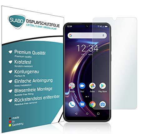 Slabo 4 x Bildschirmschutzfolie für Beafon M6 Bildschirmfolie Schutzfolie Folie Zubehör Crystal Clear KLAR