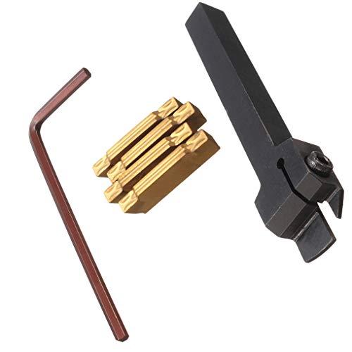 Guangcailun MGEHR1010-2 10mm Drehmaschine Drehwerkzeughalter MGMN200 Einstechen aus Insert-Schlüssel-Werkzeug-Set