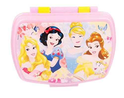 Kinder Brotdose / Lunchbox / Sandwichbox Disney Princess Royal Pets - tolles Geschenk für Mädchen (BP 03)