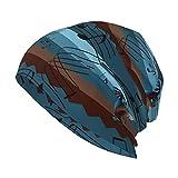 LAOLUCKY Slouchy Beanie Mütze Fashion Skull Cap Headwear Unisex Running Knit Hat Winter Cap,...