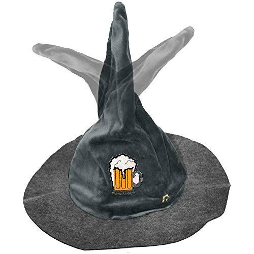 Fan-O-Menal Fan-O-Menal Wackelhut Gaudi Hut Bewegung + Sound Oktoberfest tanzt jodelt Bier Humpen - 51494