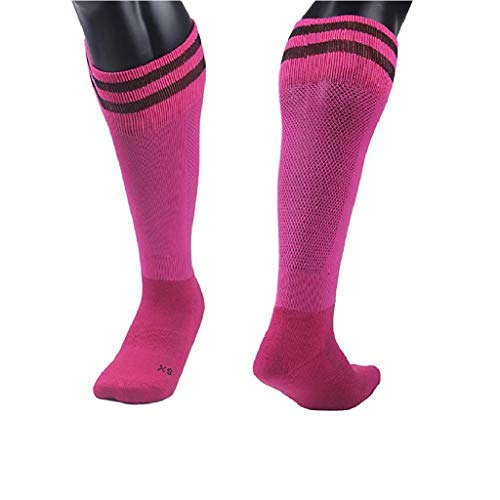 Lovely Annie Unisex niños 1Pair rodilla alta calcetines de deporte, talla XXS/XS/S/M -  Rosado -