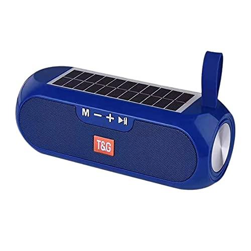 BOINN Altavoces, Altavoz PortáTil Caja de MúSica EstéReo Banco de EnergíA Solar Radio USB AUX FM Impermeable