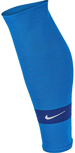 Nike Unisex NK STRK LEG SLEEVE-GFB Socks, Blau (royal blue/White), L/XL