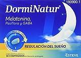 Dorminatur Comprimidos, 50g, Pack de 30. Con melatonina y Vitamina B6. Facilita la conciliación del...
