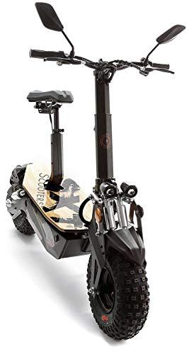 SXT Monster Offroad Scooter Elektroroller Elektroscooter 48 V 20 Ah Lithium Akku