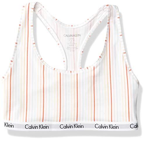 Calvin Klein Women's Carousel Logo Bralette, Sonata, S