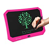 mom&myaboys17 Inches Writing Tablet Toys for 3-12 Year Old Boys,Electronic Drawing Pads for Kids,Reusable Erasable Writer,Drawing Toys for 4-8 Yr Old Boys, Digital Handwriting Doodle for Kids(Pink)