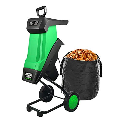 Trituradora trituradora de madera eléctrica, trituradoras de ramas de jardín de alta...