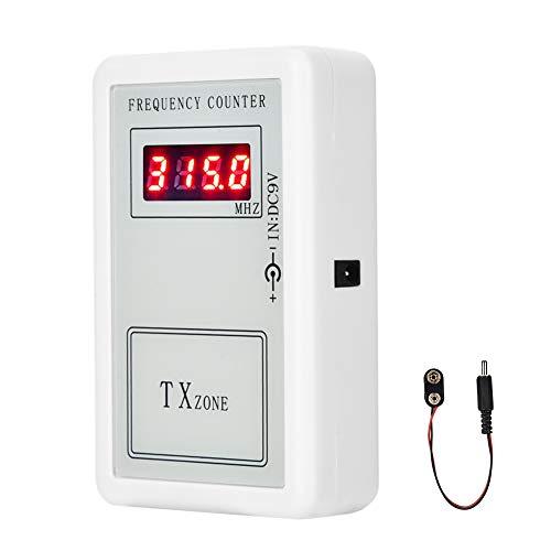 Detector de Frecuencia Inalámbrico, Genérico Contador Digital de Mano del Medidor de Frecuencia Herramientas de Prueba de Control Remoto Inalámbrico