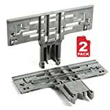 Reyhoar(Upgraded) 2 Pack Dishwasher Upper Rack Adjuster W10546503 Replacement Part - Compatible with...