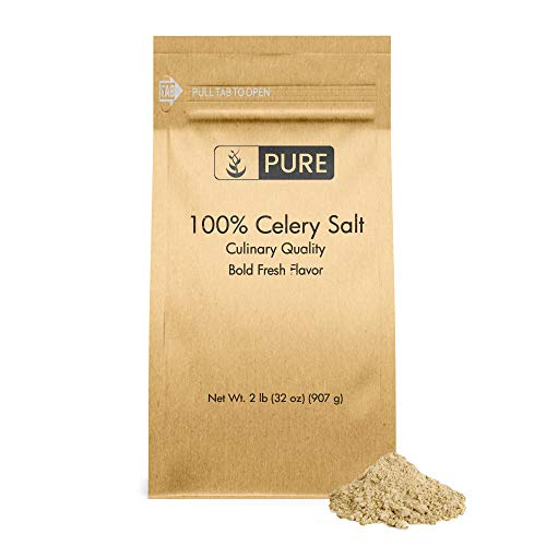 Celery Salt (2 lb) Restaurant Quality, Traditional...