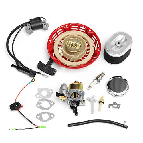 Reboil carburador de encendido bobina de encendido buje de gas filtro de aire para Honda GX160 GX200 Moto Carburadores