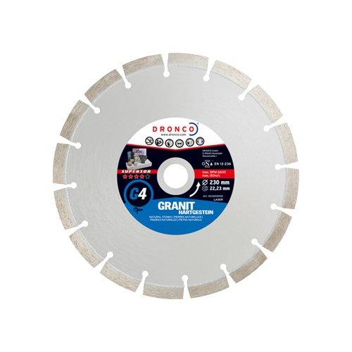 Preisvergleich Produktbild DRONCO G4-115 - Disco de diamante Superior G4 - Granito (Antes LT36) Ø 115 mm
