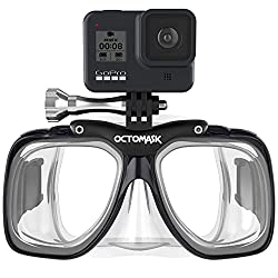the best scuba masks for GoPro's .