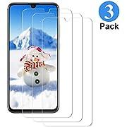 Qhui 3 Stück Panzerglasfolie für Huawei Honor 10 Lite/P Smart 2019, 9H Härte Displayschutzfolie,Anti-Kratzer, Anti-Bläschenm Ultra-dünner HD Panzerglas Schutzfolie für Huawei Honor 10 Lite