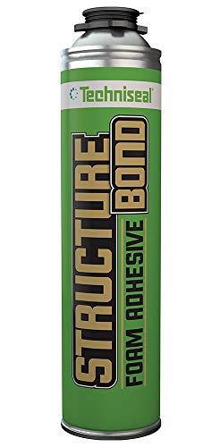 Techniseal StructureBond Hardscape Adhesive | High-Strength Foam Adhesive | Hardscape/Landscape & Construction (24oz)