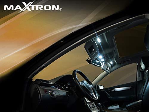 MaXtron Innenraumbeleuchtung Set für Auto Zafira C Tourer 6000K Kalt Weiß Beleuchtung Innenlicht Komplettset