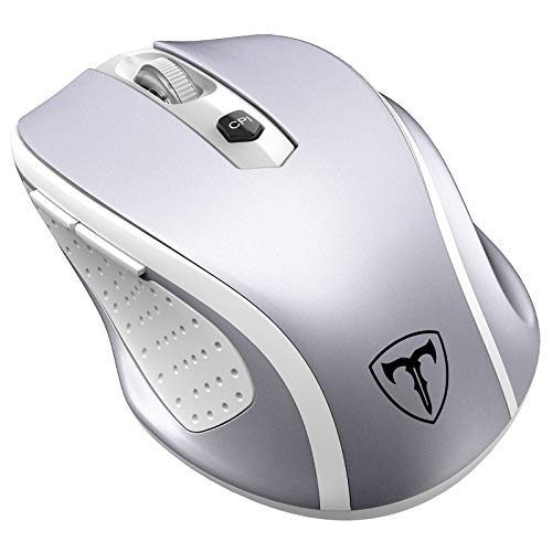VicTsing Wireless Ergonomics Cordless Mouse with USB Receiver