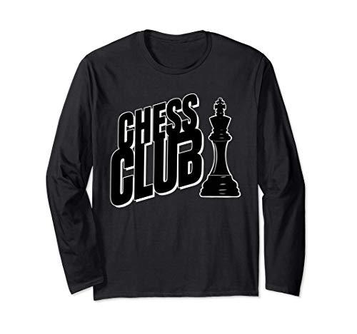 Chess Club group funny Chess Club Manga Larga
