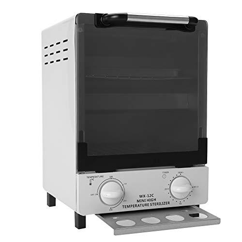 2 EN 1 Gabinete de Esterilizador Estetica 10L, Alta Temperatura + Infrarrojos, Caja de Desinfección, Equipo de Esterilización Gran Capacidad