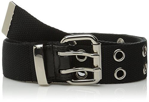 Relic by Fossil womens Double Grommet Belt, Black, Medium US