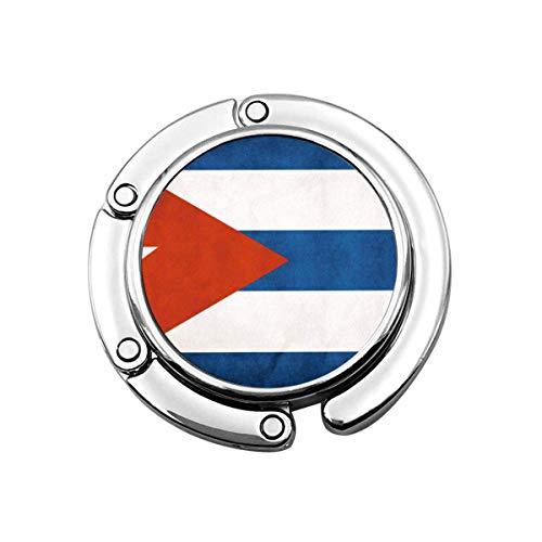 Cuba Flag Geldbeutelhalter, Handtasche Kleiderbügel Tasche Haken für Tisch Schreibtisch