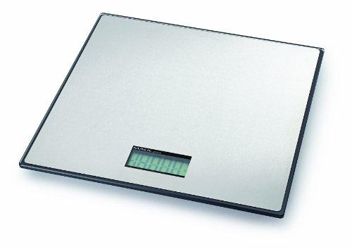 Maul 1715090 Paketwaage MAULglobal, 50 kg, 32 x 32 cm, Silber, 1 Stück