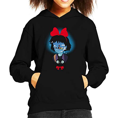 Cloud City 7 Kiki's bezorgservice op bezem Kids Hooded Sweatshirt