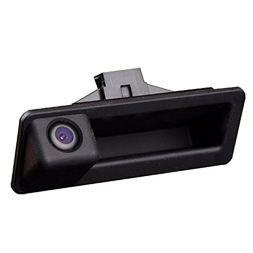 Kalakus Wasserdicht Rückfahrkamera im Koffergriff integriert,Rückansicht fahrzeugspezifische Lenkstange Kamera für BMW 5er Serie M5 / 3 Serie M3 / X1 / X3 / X5 / X6 / E39 / E53 / E90 / E60 / E70 / E83