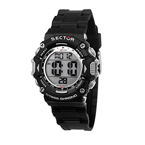 Sector No Limits Ex-32 Reloj Hombre, De Cuarzo, Digital - R3251544001