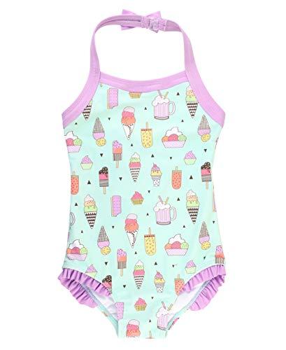 Girls' One-Piece Swimwear