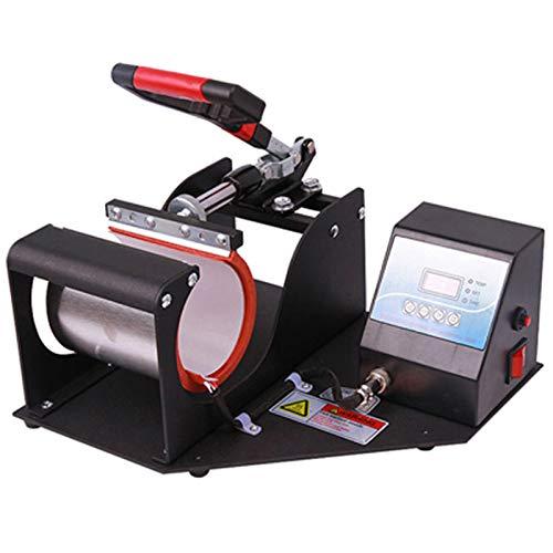 マグカップ熱プレス機、昇華カップ熱プレス転写印刷マグカップアタッチメントコーヒーマグカップコンパクトポータブル印刷パーソナライズされたカップ熱伝達機350W
