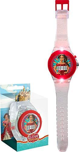 ELENA DE AVALOR Reloj de Pulsera Digital con luz led (WD17970), Multicolor (Kids Licensing 1)