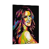 xiexun Celiner Dion Poster, dekoratives Gemälde, Leinwand,