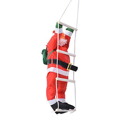 AzsfUfsa53 Christmas Santa Claus Climb Ladder Design Pendant Toy Xmas Tree Party Home Decor Christmas Supplies Decorations D 1#