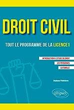 licence en droit civil