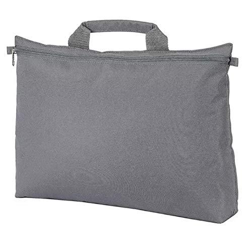 Shugon - Bolso maletín modelo Malmo (Talla Única) (Gris)