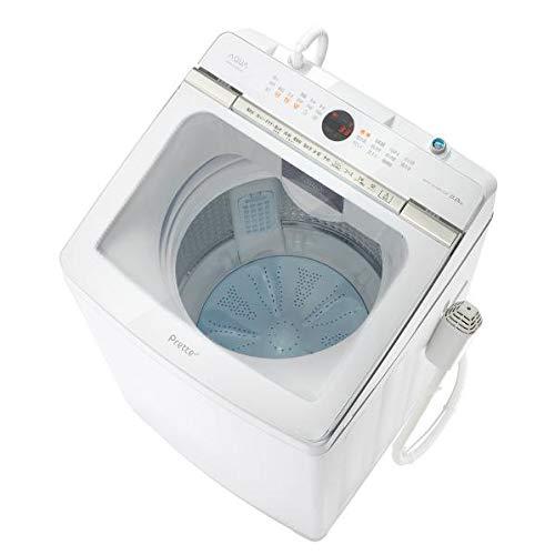 AQUA 9.0kg全自動洗濯機 Prette(プレッテ) ホワイト AQW-GVX90J(W)