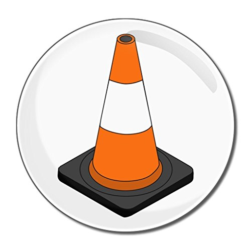 Traffic Cone - Miroir compact rond de 55 mm