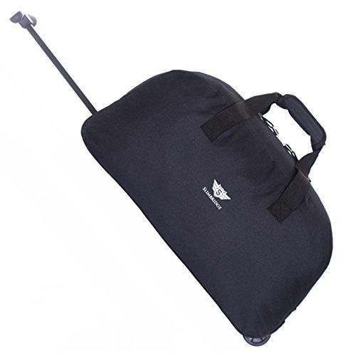 Slimbridge Castletown bagaglio a mano borsa da viaggio con ruote, Nero
