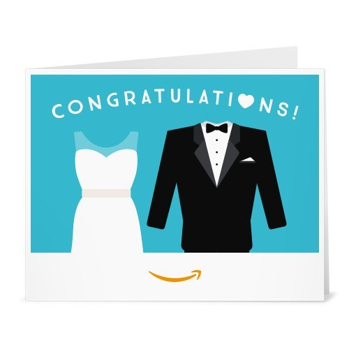 Amazon Gift Card - Print - Wedding Dress and Tuxedo